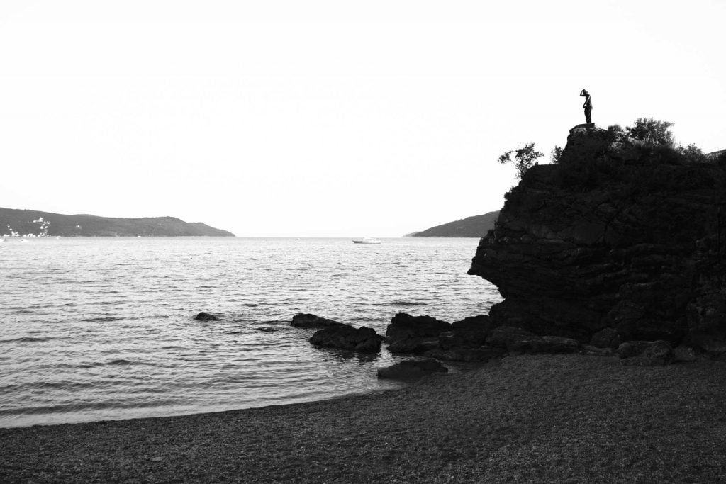 The statue on the beach, Herceg Novi - © Miss Stills Photography
