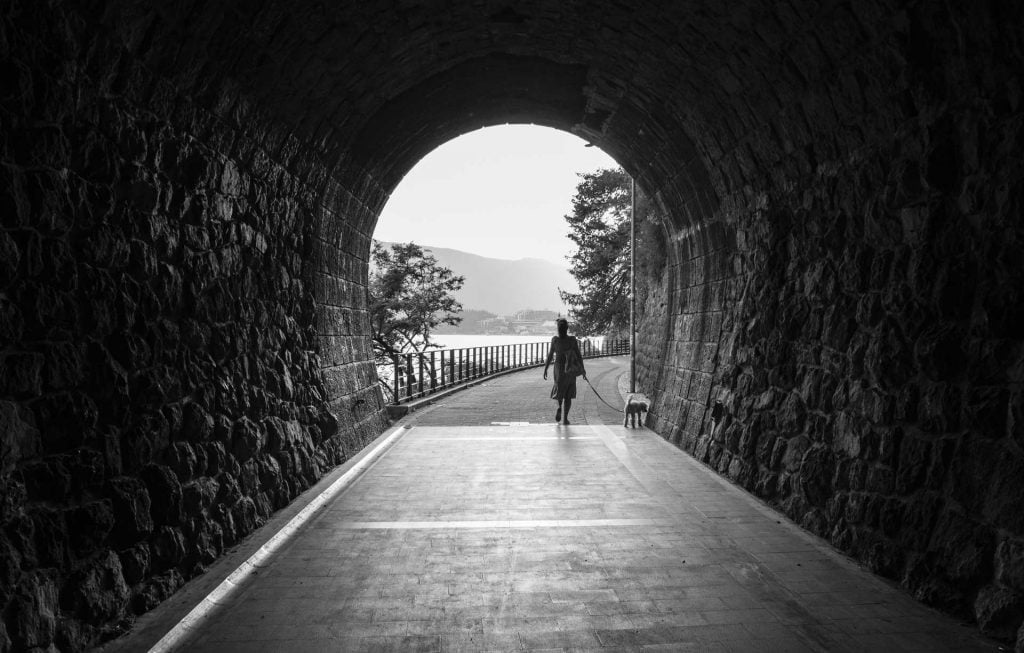 The tunnel along the promenade - © Miss Stills Photography